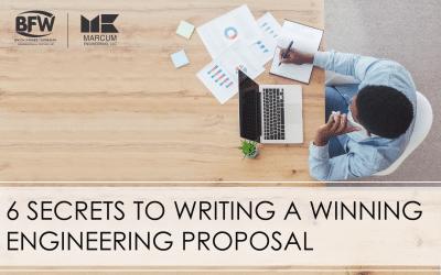 6 Secrets to Writing a Winning Engineering Proposal