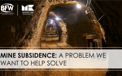 Mine Subsidence: A Problem We Want to Help Solve