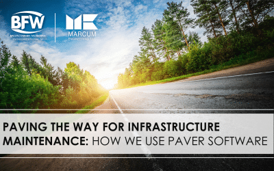 Paving the Way for Infrastructure Maintenance: How We Use PAVER Software